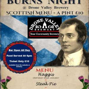 Burns Night Supper – Steak Pie