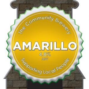 CASK – Amarillo 4.8% ABV   3 Litre Fridge pack – filled from cask + Local Delivery (Members only)