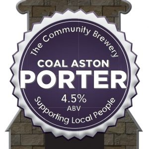 CASK – Coal Aston Porter 4.5%ABV  3 Litre Fridge pack filled from cask + Local Delivery (Members only)