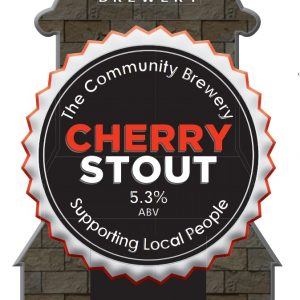 CASK- Cherry Stout 5.3%ABV   3 Pint Carry out filled from cask + Local Delivery (Members only)