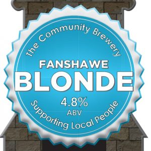 CASK- Fanshawe Blonde 4.8%ABV   3 Litre Fridge pack – filled from cask + Local Delivery (Members only)