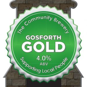 CASK – Gosforth Gold 4.0%ABV  2 Pint Carry out filled from cask + Local Delivery (Members only)