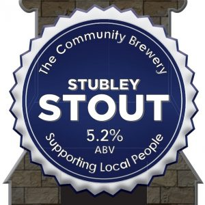CASK – Stubley Stout 5.2%ABV   3 Litre Fridge pack- filled from cask + Local Delivery (Members only)