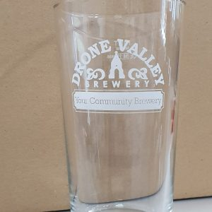 Drone Valley Brewery Pint Glass