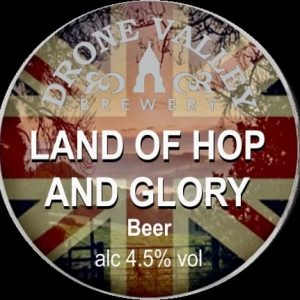 CASK- Land of Hop & Glory 4.5% ABV 3 Pint Carry out filled from cask + Local Delivery (Members only)