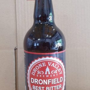 CASE OF 12x500ml Bottle – Dronfield Best Bitter 4.3%ABV  + Local Delivery (SPECIAL OFFER FOR MEMBERS ONLY)
