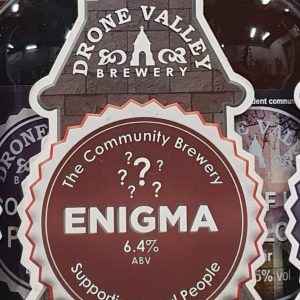 CASK- ENIGMA 6.4% ABV   3 Litre Fridge pack – filled from cask + Local Delivery (Members only)