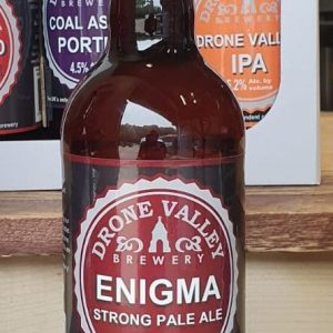 500ml Bottle – Enigma 6.4%ABV   + Local Delivery ( MEMBERS ONLY)