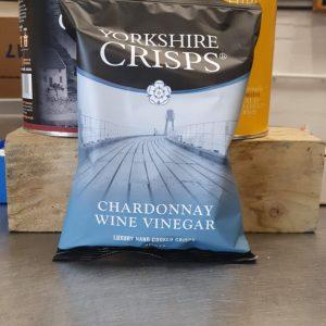 Yorkshire Crisps Chardonnay Wine Vinegar 40g Pack