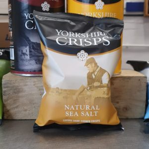 Yorkshire Crisps Sea Salt 40g Pack