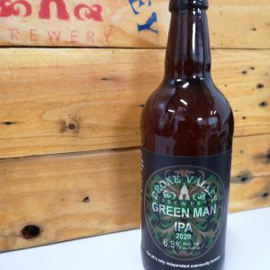 500ml Bottle – Greenman IPA 6.3%ABV  + Local Delivery (Members only)