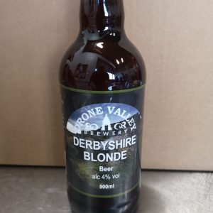 Bottle – 500ml  Derbyshire Blonde 4% ABV
