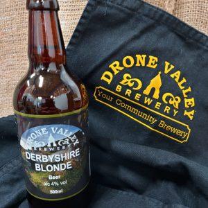 Bottle – 500ml  Derbyshire Blonde 4% ABV