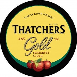 Thatcher's Gold Cider 500ml Bottle 4.8% vol