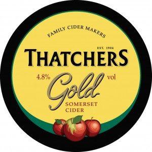 Thatcher's Gold Cider 500ml Bottle 4.8% vol