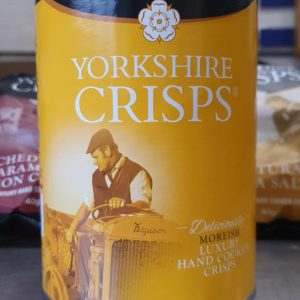 Yorkshire Crisps Sea Salt 100g Drum