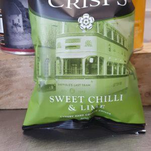 Yorkshire Crisps Sweet Chilli & Lime 40g Pack