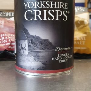 Yorkshire Crisps Cheddar & Caramelised Onion Chutney 100g Drum