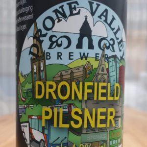 Can 440ml  – Dronfield Pilsner 4.3% ABV Gluten Free